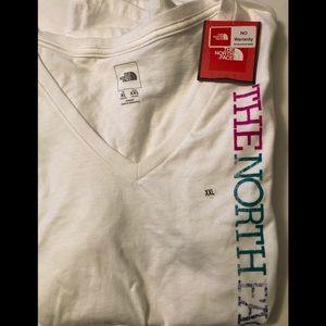 The North Face new XL v neck shirt